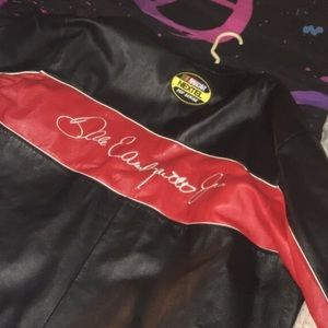 Leather Nascar Number 8